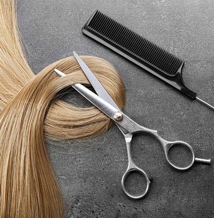 к парикмахеру